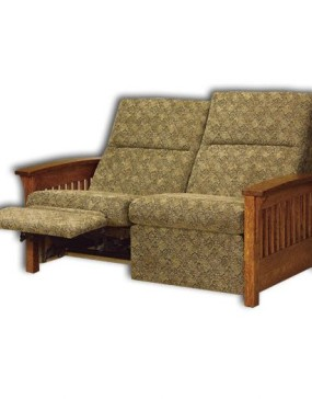 Skyline Slat Loveseat Recliner