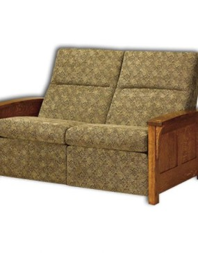 Skyline Panel Loveseat Recliner