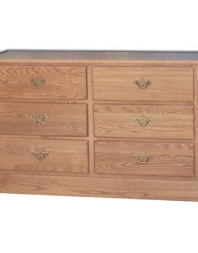 Traditional 6 Drawer Changing Table / Dresser