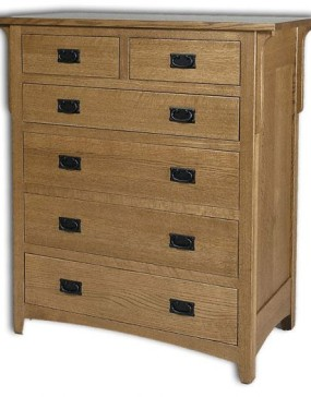Millcreek Mission 6-Drawer Chest