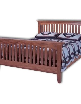 Arch Mission Slat Bed