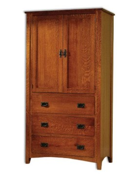 Mission Antique Armoire