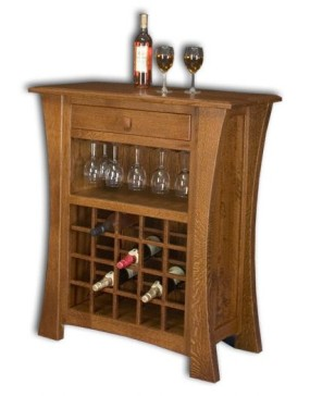 Arts and Crafts Wine Rack