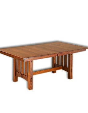 Aspen Mission Trestle Table