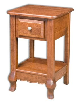 French Country 1-Drawer Nightstand