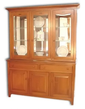 Bow Tie Mission Hutch / Buffet