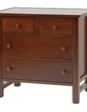 Cabin Creek Small 4 Drawer Dresser