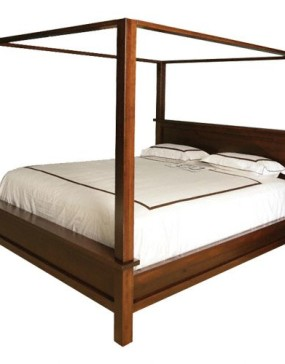 Cabin Creek Canopy Bed