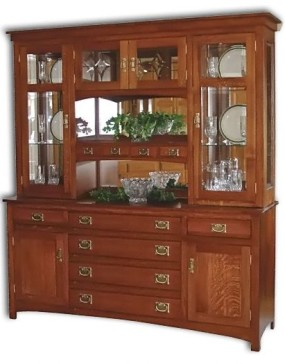 Cape Cod Mission Hutch / Buffet
