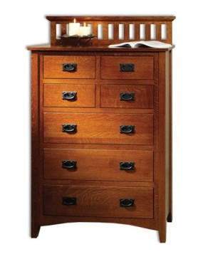 Mission Antique Chest of Drawers