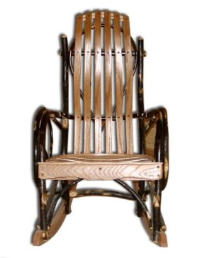 Rustic Hickory Childs Rocker
