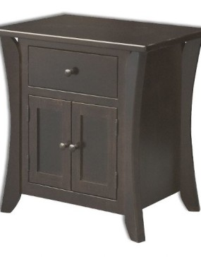 Caledonia 1 Drawer 2 Door Nightstand