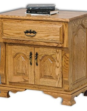 Classic Heritage 2-Door, 1-Drawer Nightstand