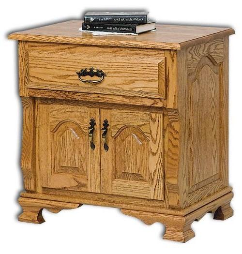 Classic Heritage 2-Door, 1-Drawer Nightstand