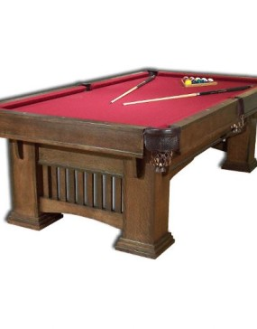 Classic Mission Billiard Table