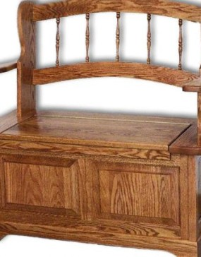 Country Spindle Bench