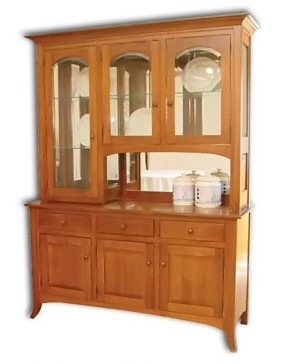 Curved Shaker Hutch / Buffet