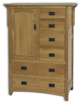 Millcreek Mission 44W Door Chest