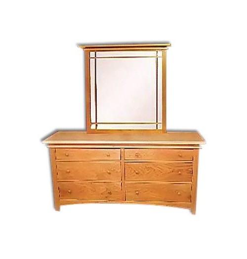 Maple Creek Straight Dresser Mirror
