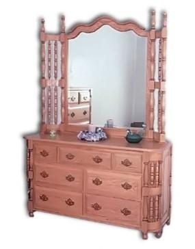 """Wraparound 60"""" Dresser"""