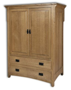 Millcreek Mission Entertainment Armoire