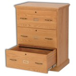 3-Drawer Traditional Lateral File Cabinet