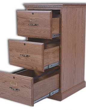 3-Drawer Traditional File Cabinet YT93