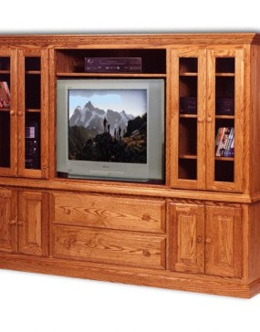 2-Piece Double End Entertainment Center
