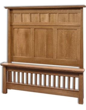 Vancoover Panel Bed