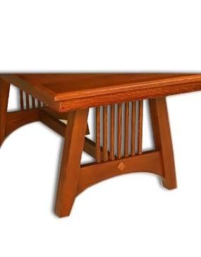 Hartford Mission Trestle Table