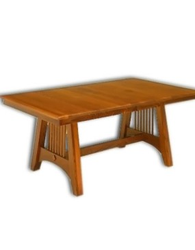 Hartford Mission Trestle Table