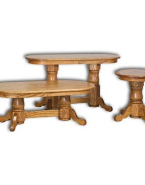 Hawkins Pedestal Occasional Tables
