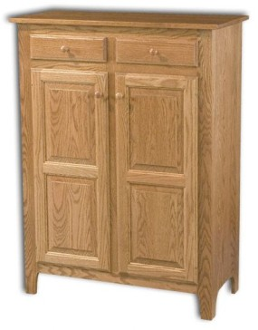Classic 2 Door 2 Drawer Pie Safe Jelly Cupboard