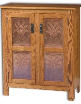 Mission 2 Door Pie Safe Cupboard