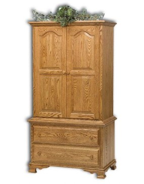 Heritage Chest on Chest 2pc. Armoire