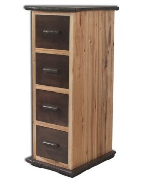 Rustic Hickory File Cabinets