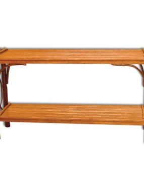 Rustic Hickory Sofa Table