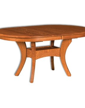 Oval Imperial Pedestal Table