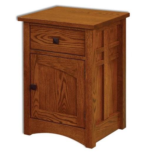 Kascade 1 Drawer 1 Door Nightstand