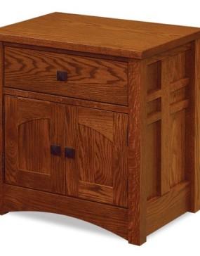 Kascade 1 Drawer 2 Door Nightstand