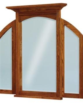 Kascade Tri-Fold Mirror