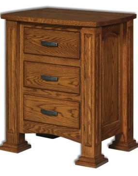 Lexington 3-Drawer Nightstand