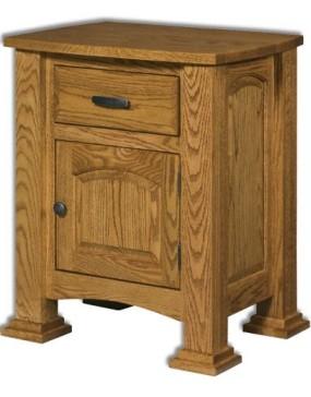 Lexington 1-Drawer 1-Door Nightstand