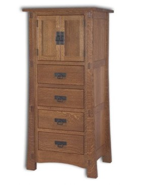 Modesto 2 Door 4 Drawer Lingerie Chest