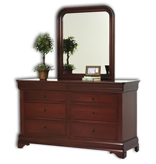 Louis Phillipe 8-Drawer Dresser