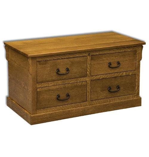 False Drawer Cedar Chest