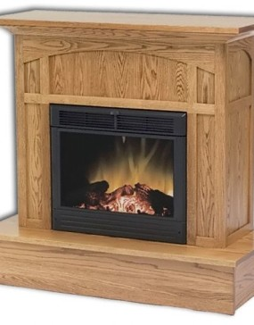 Mission Electric Fireplace