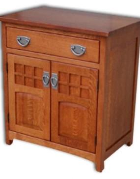 Royal Sante Fe 1-Drawer 2-Door Nightstand