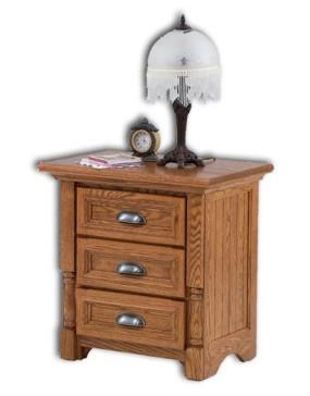 Palisade 3-Drawer Nightstand