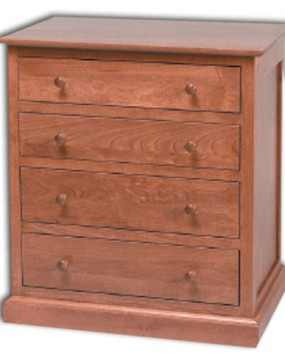 Sante Fe Small 4-Drawer Nightstand